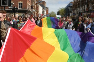 Exeter Pride parade 2014
