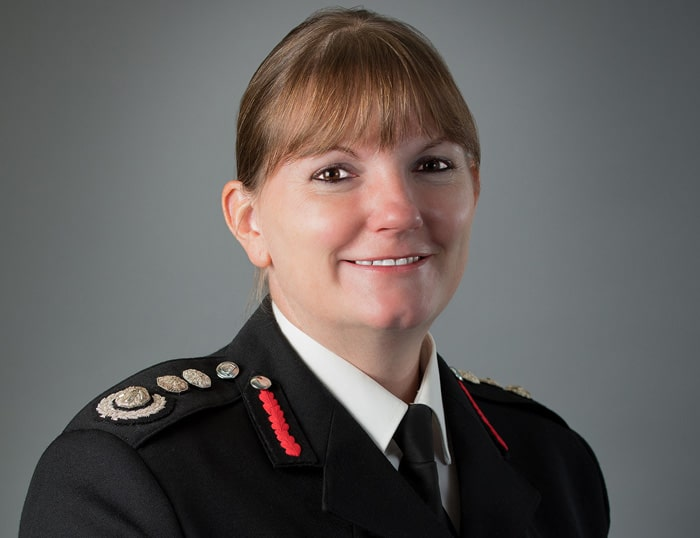 Interim Fire Commissioner Dany Cotton takes charge