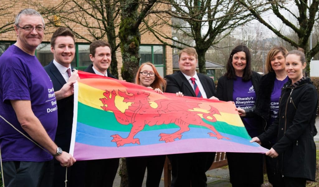 Rhondda Cynon Taf Council stands up to LGBT discrimination for IDAHOT 2017