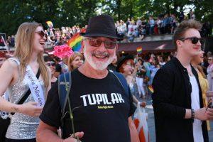 Bill at Baltic Pride Tallinn