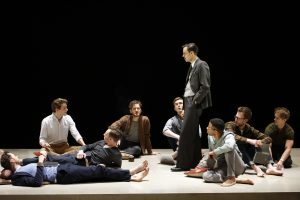 The company of The Inheritance at the Young Vic © Simon Annand
