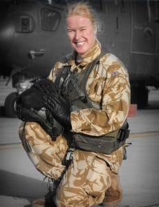 Caroline Paige (Iraq_Crown Copyright 2005)