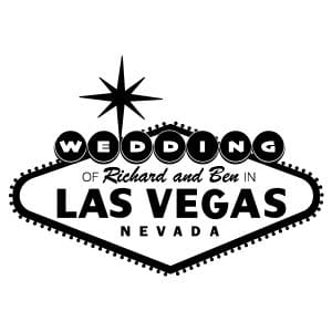 Wedding of Richard and Ben logo