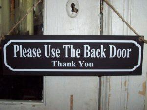 back-door