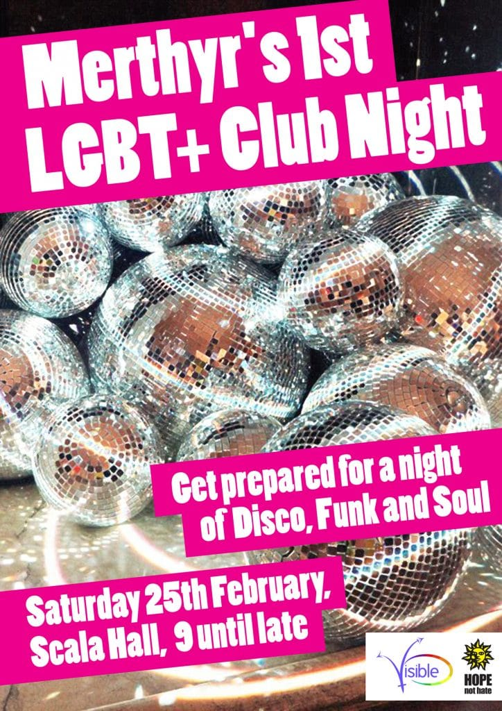 Merthyr's First LGBT+ Club Night