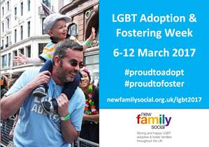 LGBT Adoption & Fostering Week starts on 6th March