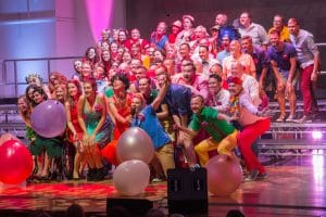 Pink Singers Raise the Roof on World AIDS Day