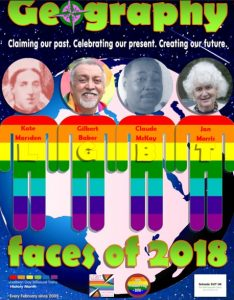 Faces of 2018