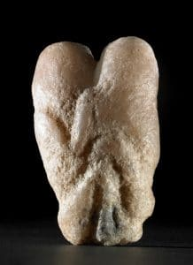 The Ain Sakhri figures. Palestine, c. 9000 BC. Calcite, 10.2cm high © Trustees of British Museum