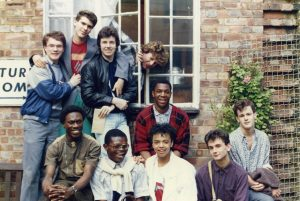 The London Gay Teenage Group, circa 1983. Courtesy of Gregg Blachford
