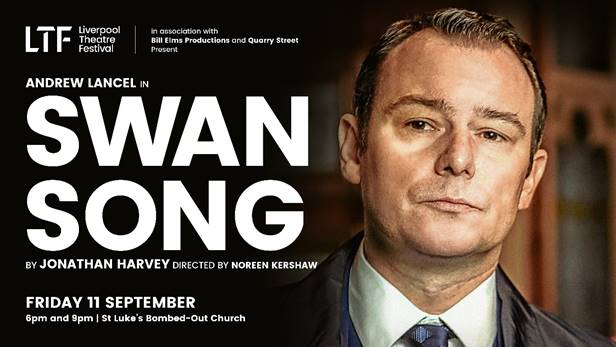 ANDREW LANCEL TO OPEN LIVERPOOL THEATRE FESTIVAL WITH ONE-MAN LGBT+ COMEDY PLAY BY CITY PLAYWRIGHT JONATHAN HARVEY